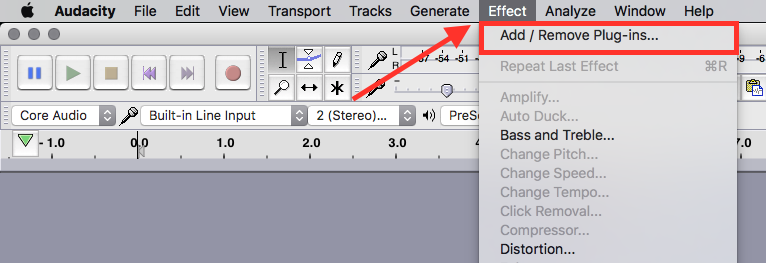 how to use vst plugins in audacity