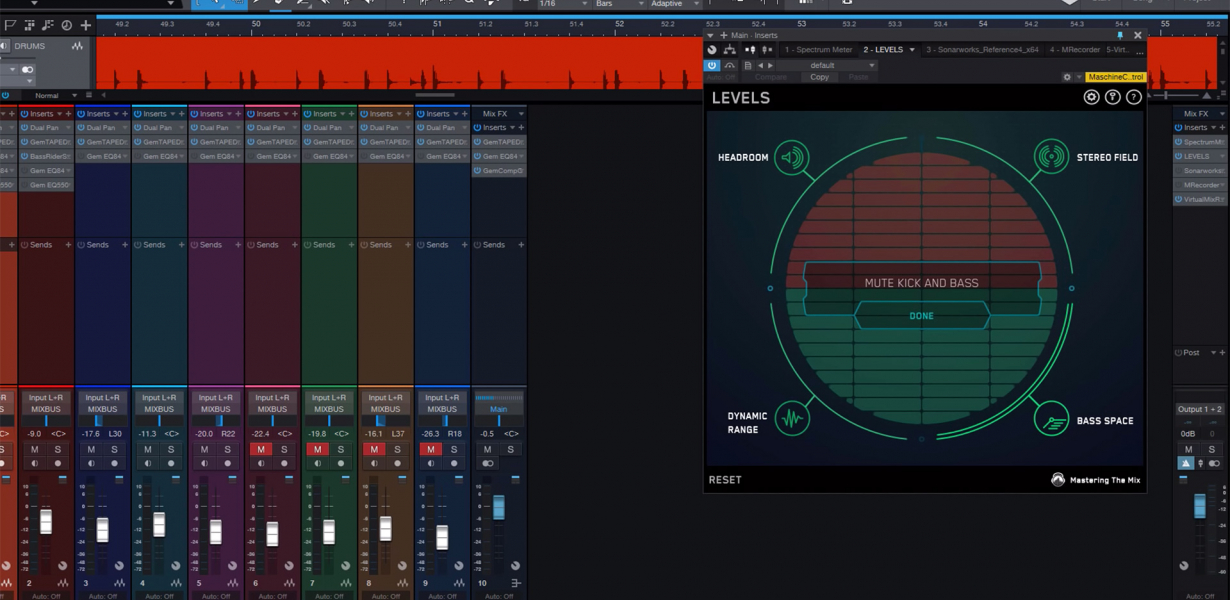 Top-down mixing techniques 2
