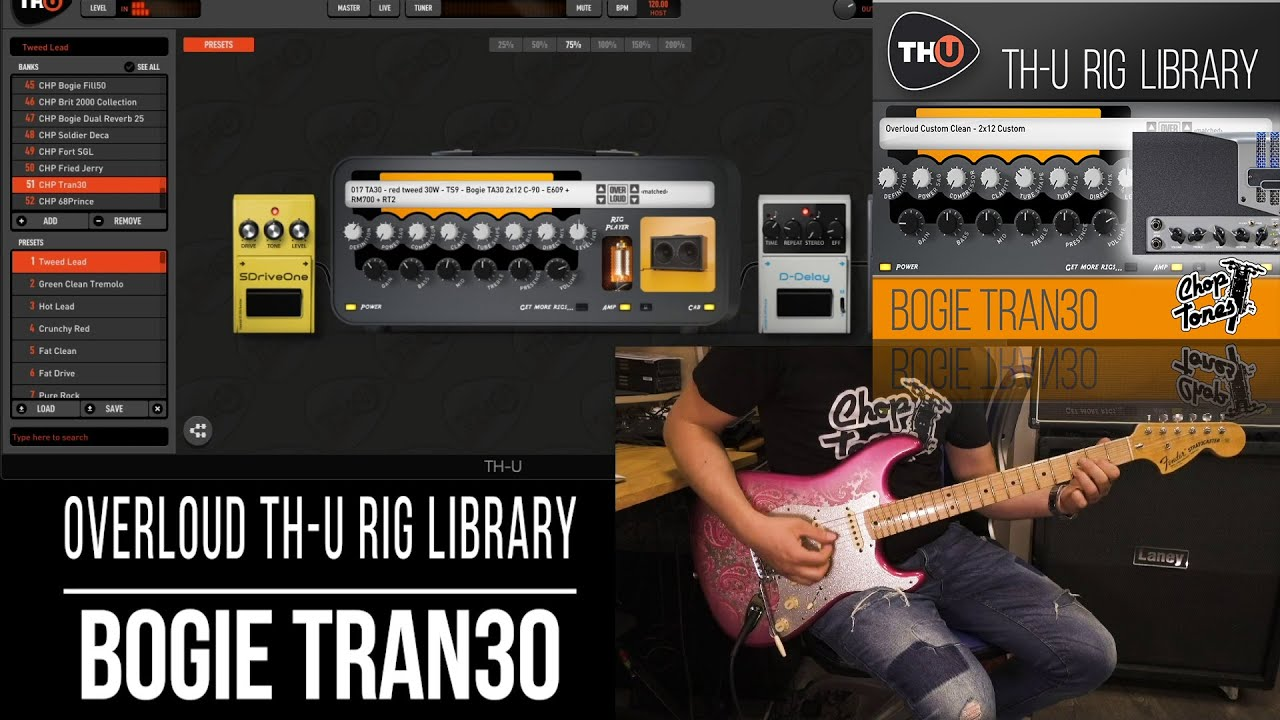 Embedded thumbnail for Choptones Bogie Tran30 > Video gallery